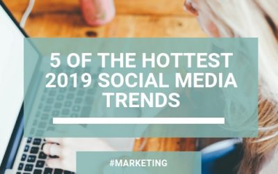 5 of The Hottest 2019 Social Media Trends