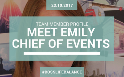 Team Member Profile – Meet Emily our Chief of Events