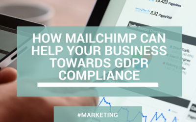 How Mailchimp can help your business towards GDPR compliance