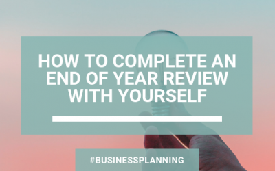 How To Complete an End of Year Review With Yourself